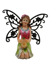 Fairy with Solar Flowers - Solar Statues