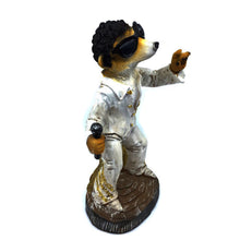 Tom Jones Meerkat with Solar Eyes - Solar Statues