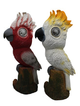 Native Birds with Solar Eyes (Set of 2) - Solar Statues