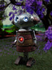 Robot With Solar Lights (Female) - Solar Statues
