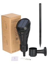 Solar Torch with Flickering Flame Effect - Solar Statues