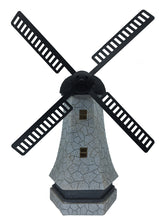 Windmill with Solar Light - Solar Statues