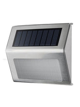 Stainless Steel Solar LED Wall Light - Solar Statues