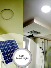 Solar Skylight 15 Watt LED Round 300mm - Solar Statues