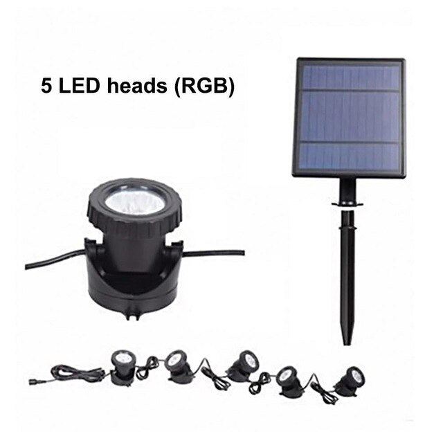 RGB Multi-Colour Solar LED Outdoor Light - Solar Statues