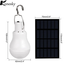 Portable Solar LED Outdoor Bulb Light - Solar Statues