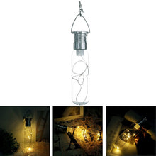 LED String Solar Bottle Hanging Light - Solar Statues