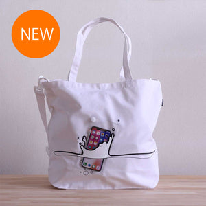 splash BAG +plus(ホワイト)