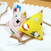 Japanese Onigiri おにぎり Catnip and Silvervine Toy in Yellow Hachi