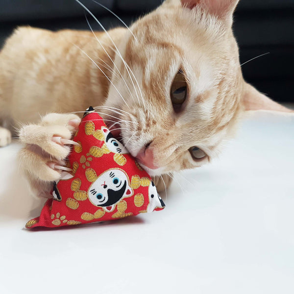 Chinese New Year Huat Huat Huat Catnip & Silvervine Toy