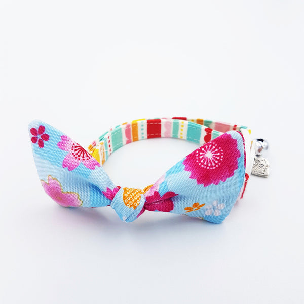 Japan Sakura Spring Bow Cat Collar
