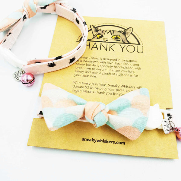 NEW! Sweet Summer Honeycomb Cat Collar