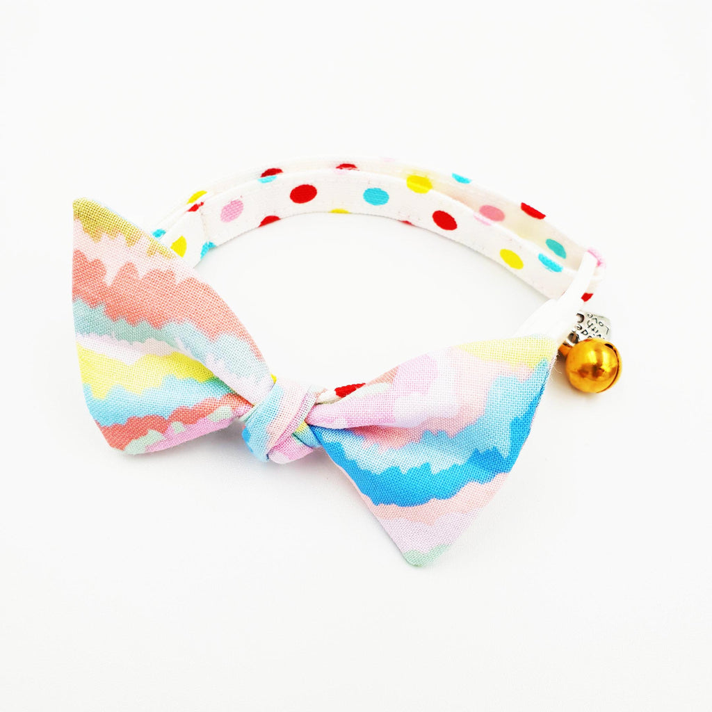 Cat Collar Paddle Pop Bow