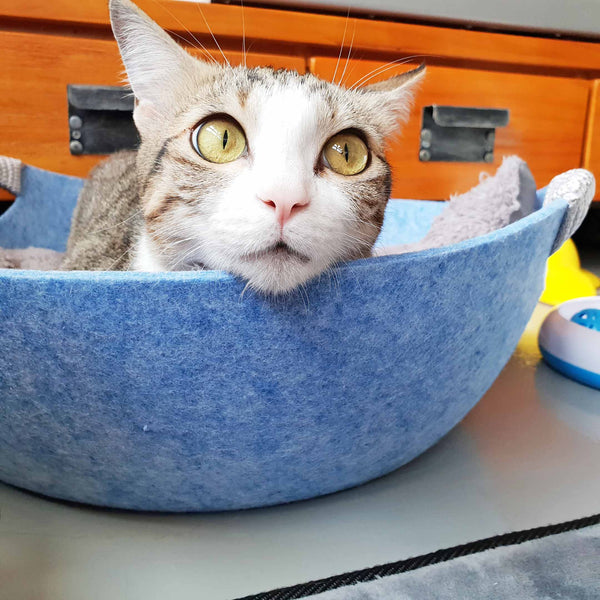 Minimalist Cat Wok Bed (Available in 3 Colours)