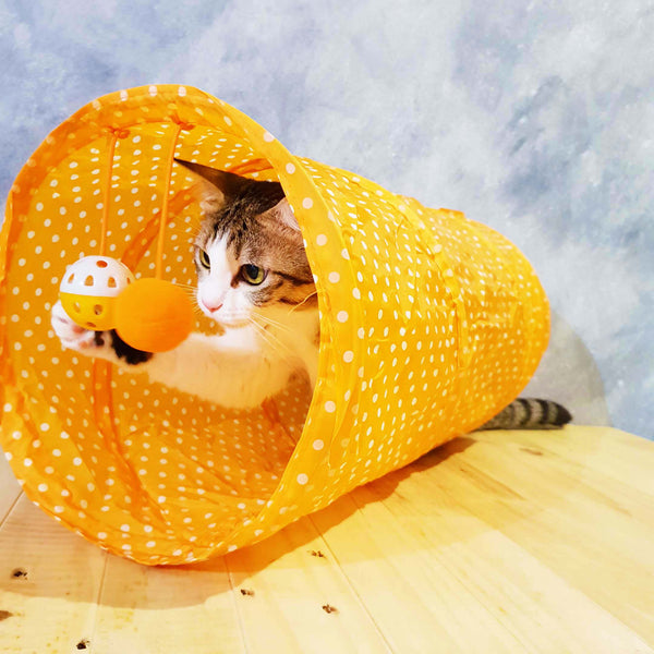 Happy Fun Cat Tunnel (Available in 3 Colours)