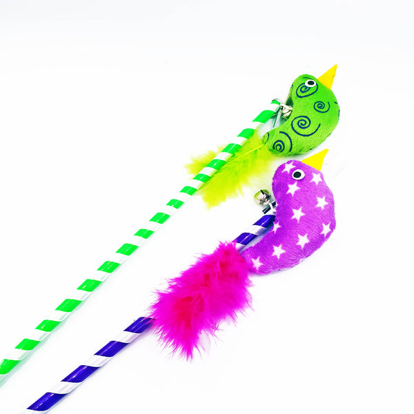 Bright Feather Bird Cat Teaser (Available in 2 Colours)