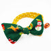 Surprise Christmas Bow Cat Collar