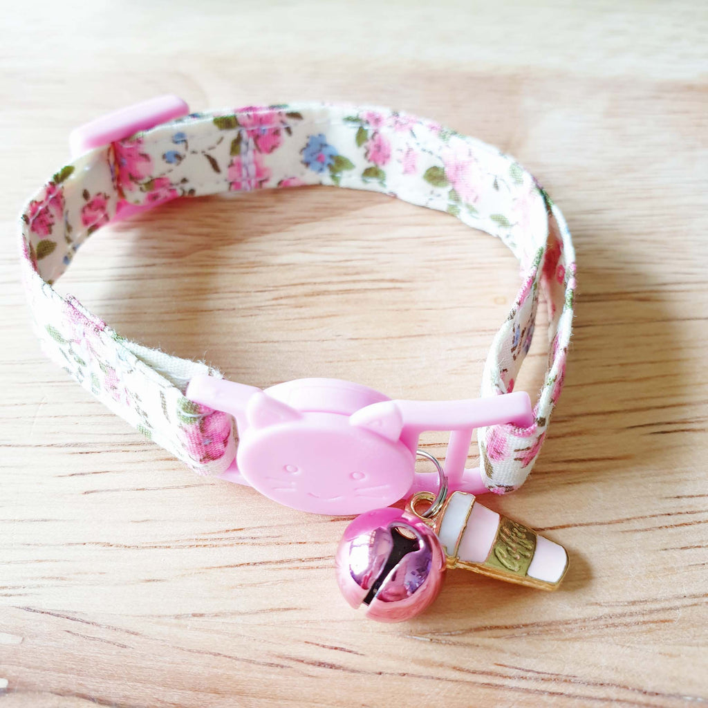 Sweet Cuppa Flora Cat Collar