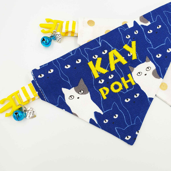 Kay Poh Limited Edition Scarf Cat Collar