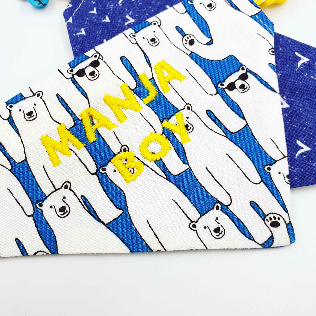 Manja Boy Limited Edition Scarf Cat Collar
