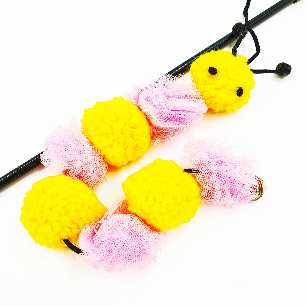 Fluffy Caterpillar Teaser (Available in 2 Colours)
