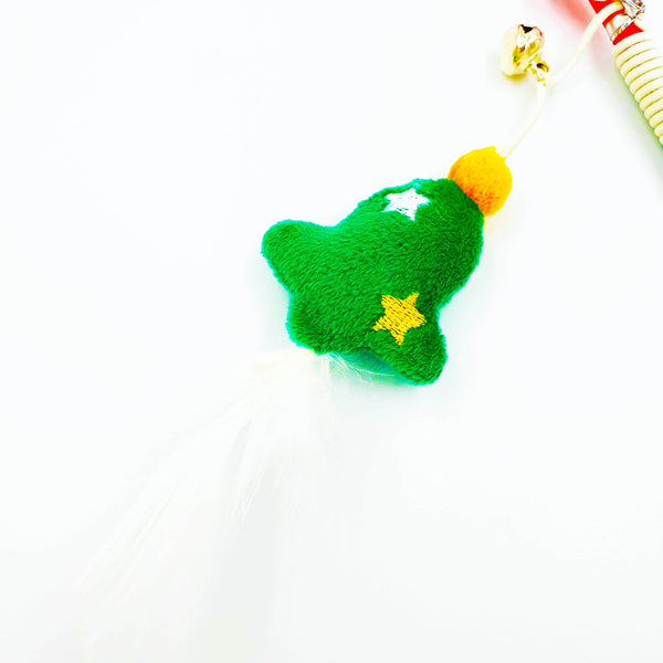 Sweet Christmas Tree Teaser with Feather
