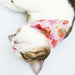 Japan Sakura Garden Double-Sided Scarf Cat Collar