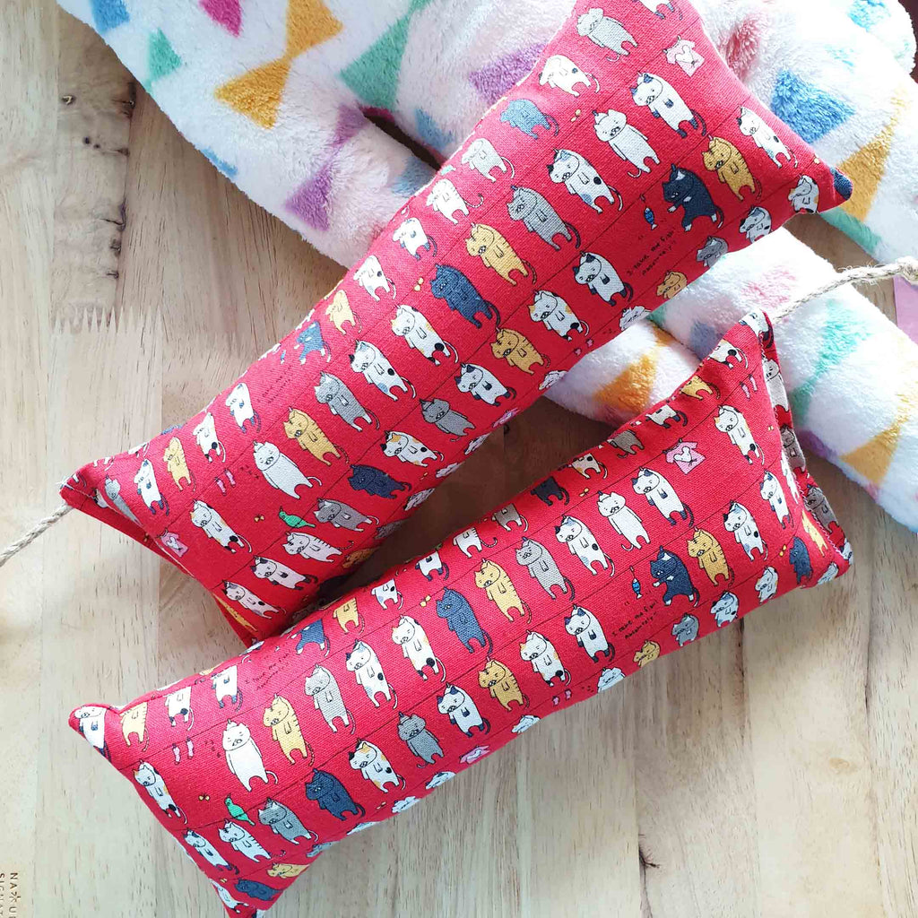 EXTRA Large Cat Laundry Catnip & Silvervine Bolster