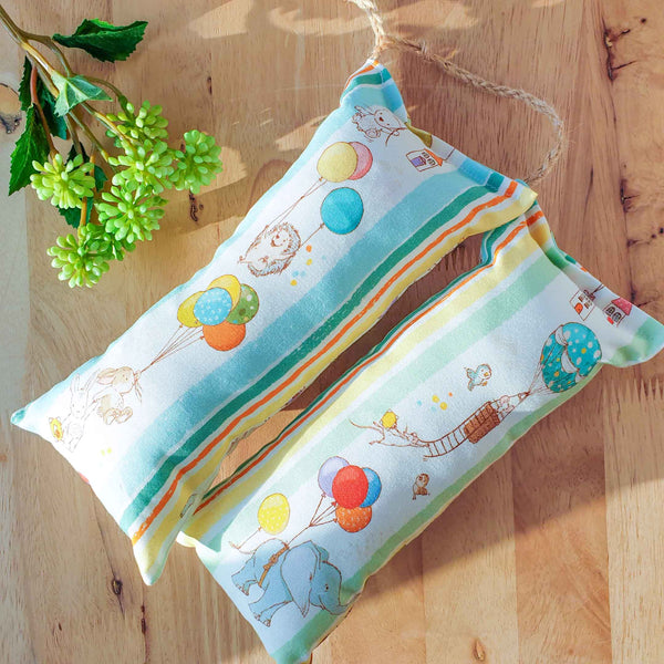 Happy Spring Catnip & Silvervine Bolster - LARGE