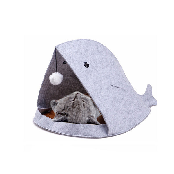 NEW! Minimalist Anglerfish Cat Bed (Available in 2 Colours)