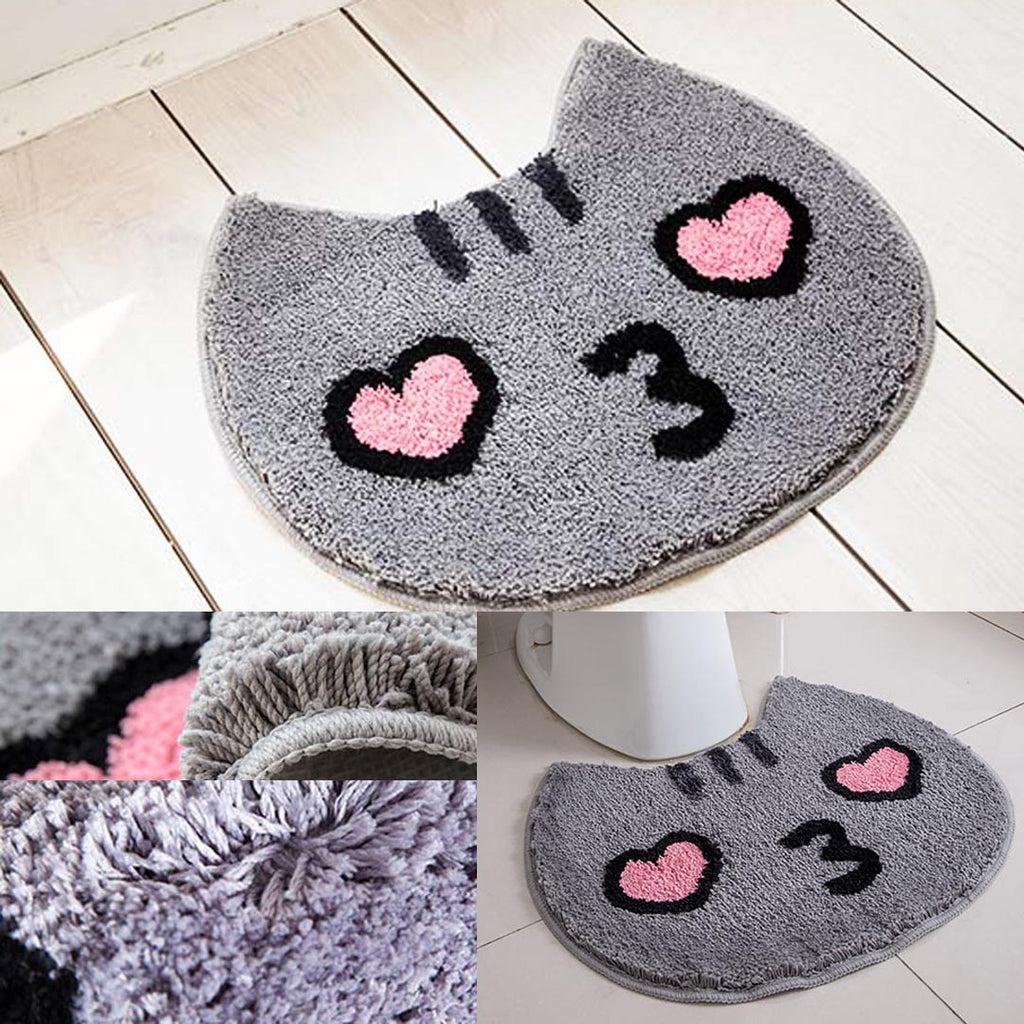 Love At First Sight Cat Face Carpet