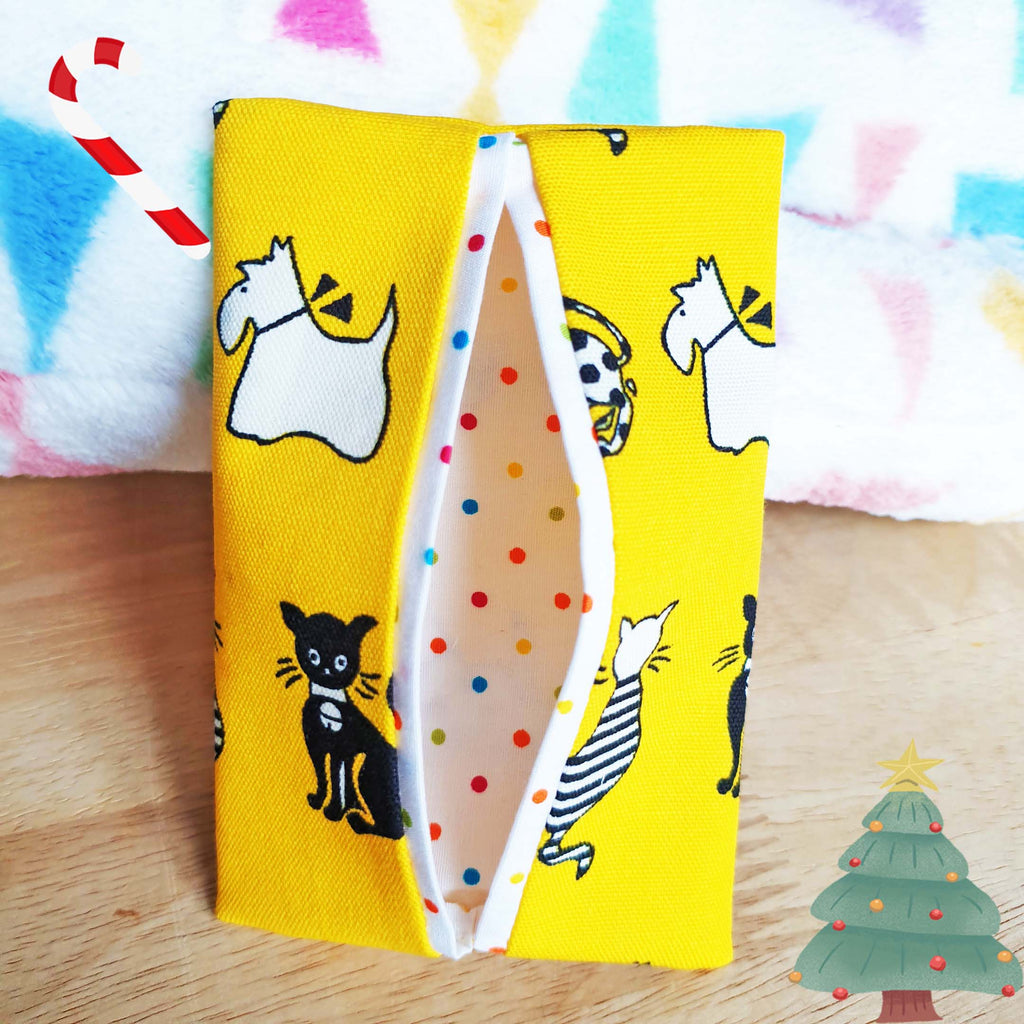 Limited Edition Merry Polka Dots Tissue Pouch