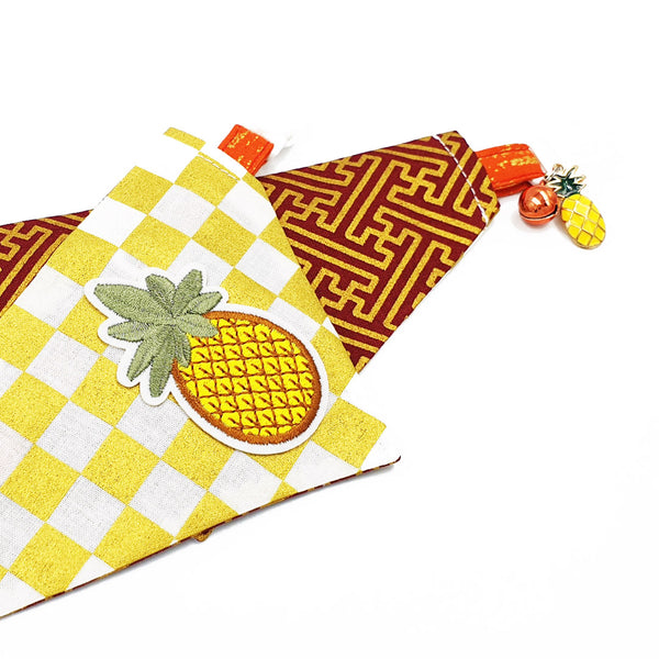 Fortune Cone Pineapple 鳳梨 Scarf Cat Collar (Limited Edition)