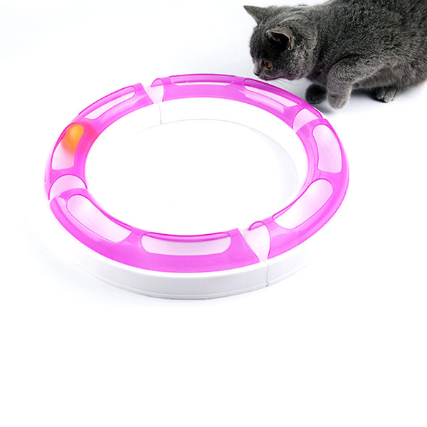 Railway Merry-Go-Round Cat Toy