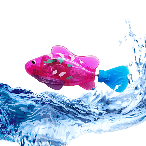 NEW! Transparent Automatic Moving Robot Fish Toys (Available in 4 Colours)