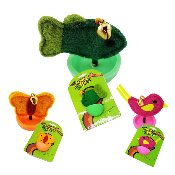 Roly-Poly Catnip Toys (3 Designs Available)
