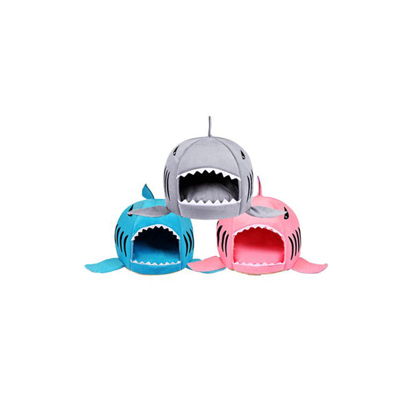 Am I Eaten? Shark Cat Bed (3 Colours Available)