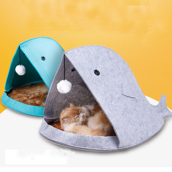 [WhiskersDirect] Minimalist Anglerfish Cat Bed (Available in 2 Colours)