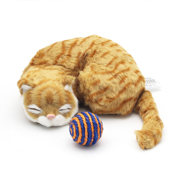 [WhiskersDirect] Cute Sleeping Cat Plushie