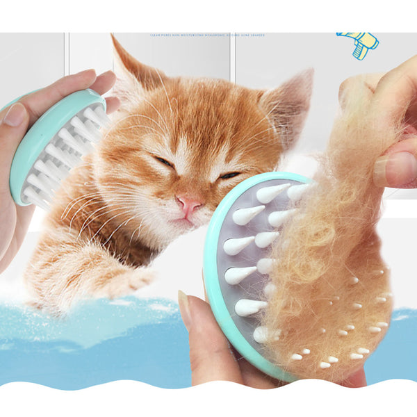 [WhiskersDirect] Comfortable Pet Massage Brush