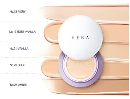 HERA UV MIST CUSHION SPF34  PA++  with refill Shade #23 only