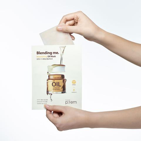Make P:rem Nourishing Oil Sheetmask