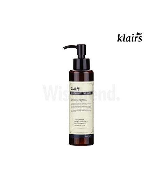 Klairs Gentle Black Deep Cleansing Oil