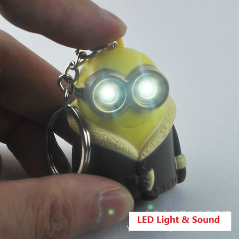 Despicable Me 2 3D Mini LED Keychain