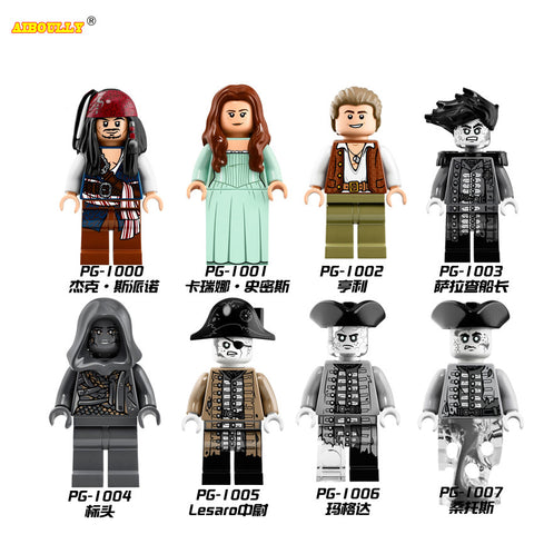 Pirates Of The Caribbean Building Blocks