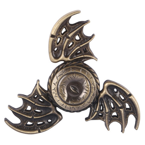 Fidget spinner Toy Game of Thrones Hand Spinner Metal Finger Stress Tri Spinner Dragon