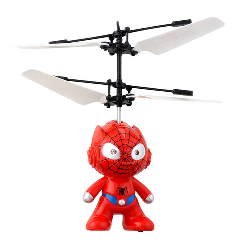 Spider Man Aircraft Flying Induction Helicopter
