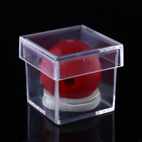 Amazing Funny Clear Ball Through Box Illusion Magic Prop Magician Trick Game Sell