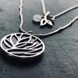 Cassia collection, sterling silver jewelry