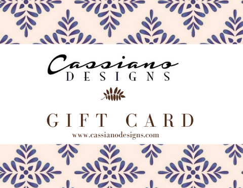 Cassiano Designs Gift Card